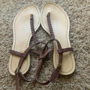 Women's 8.5 Brown Sandals